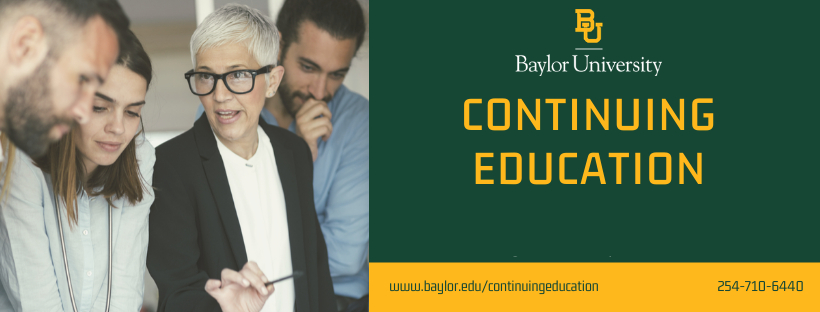 Baylor Continuing Ed banner